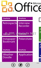 Windows Phone, Office Hub, Notizen